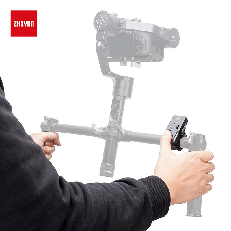 ZHIYUN Official Thumb Remote Control ZWB02 Wireless Control Monitor for Crane 2/Plus/V2/M Handheld Gimbal Stabilizer Accessories-in Gimbal Accessories from Consumer Electronics