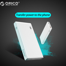 ORICO 10000 mah Power Bank QC3.0 External Battery BC1.2 Three Output 18W Max For Moblie Phone
