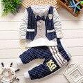 2017 Новая Коллекция Весна и Осень мальчиков одежда наборы мать и дети костюм детская одежда верхняя одежда и пальто Детская одежда набор для мальчик