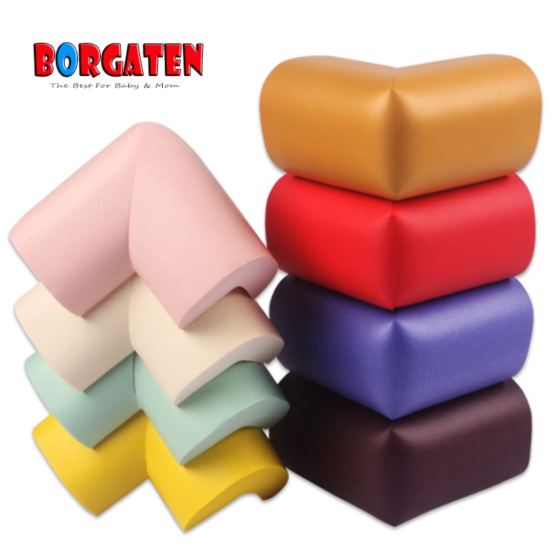 8pcs Baby Safety Table Corner Protector Kids Proof Child Cushion Protector For Children Eliastic Table Edge Guard NBR Soft Cheap
