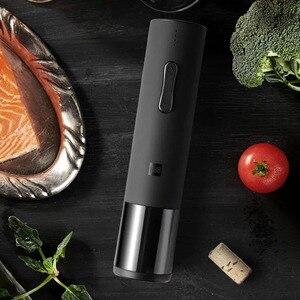 Image 5 - Youpin Huohou Automatische Wein Flasche Öffner Elektrische Korkenzieher Mit Folie Cutter USB Aufladbare Lithium Batterie Geräuscharm