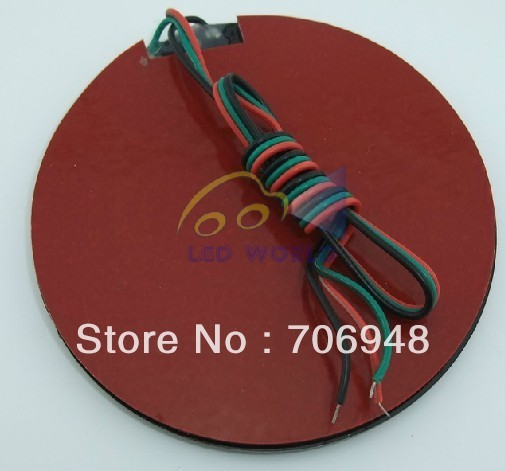 Latest!!!!!! Round Motorcycle LED warning Light 26pcs smd5050 led beads with red/green color LED Traffic Lights