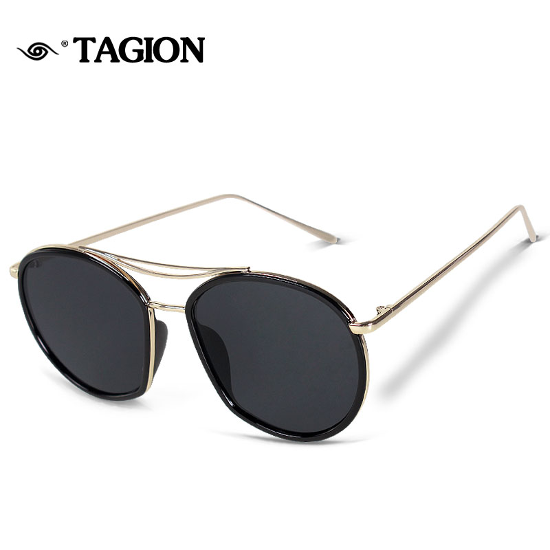 TAGION Fashion Sunglasses Women Rimeless Female Sun Glasses oculos de sol feminino UV400 Streetwear Sunglasses 6834