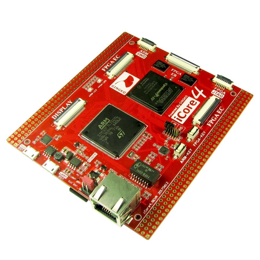 Free shipping iCore4 ARM FPGA dual core industrial control board development board Stm32 FPGA development board sensorABS Sensor   -