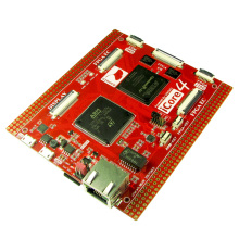 лучшая цена Free shipping iCore4 ARM FPGA dual core industrial control board development board Stm32 FPGA development board