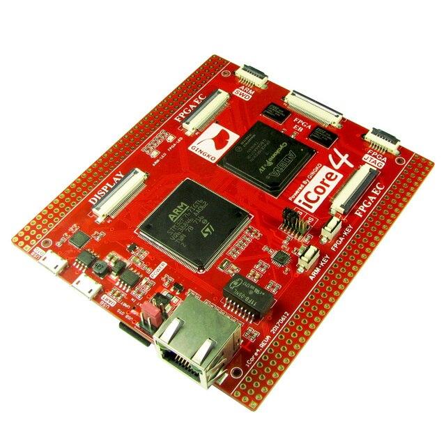 Free shipping iCore4 FPGA dual core industrial control board Stm32 FPGA board sensor