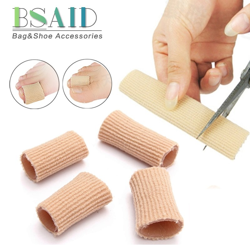 цены BSAID Soft Orthotics Shoe Pads Can Be Cut Bunion Corrector Toe Separators Spacer Cotton Gel Women Heels Insoles Shoe Inserts