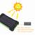 10000 mah solar power bank dual usb bateria externa de viagem à prova d' água carregador solar powerbank para iphone 6 6 s