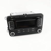 Nowy RCD030 + USB MP3 Radio Samochodowe Fit VW Jetta Golf MK5 MK6 Passat Tiguan NOWY POLO SCIROCCO TOURAN Eos OEM