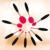 10 pçs/set Conjunto escova de Dentes de Alta Qualidade Pincéis de Maquiagem Profissional Fundação Blush Em Pó Sombra Delineador Pincel de Maquiagem Kits
