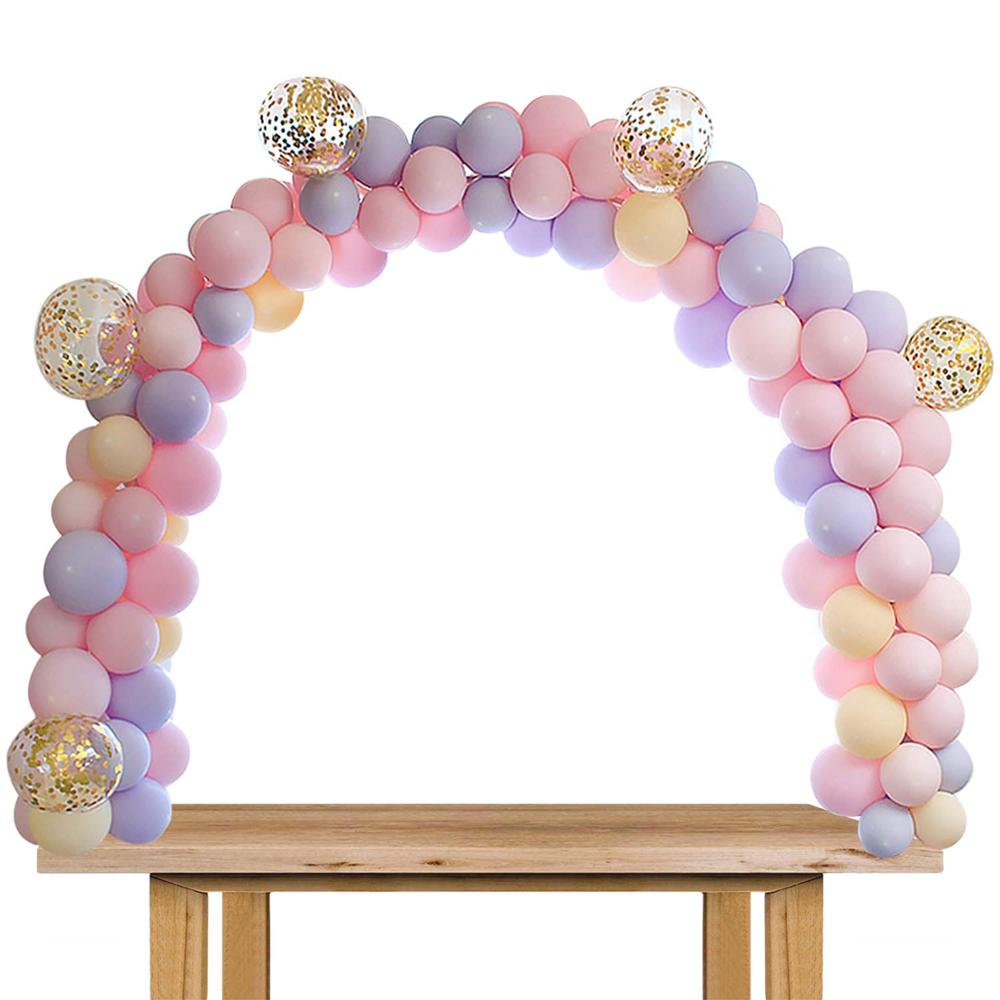 7/10 Tube Birthday Balloon Stand With Stick Holder For Wedding Decorations 3