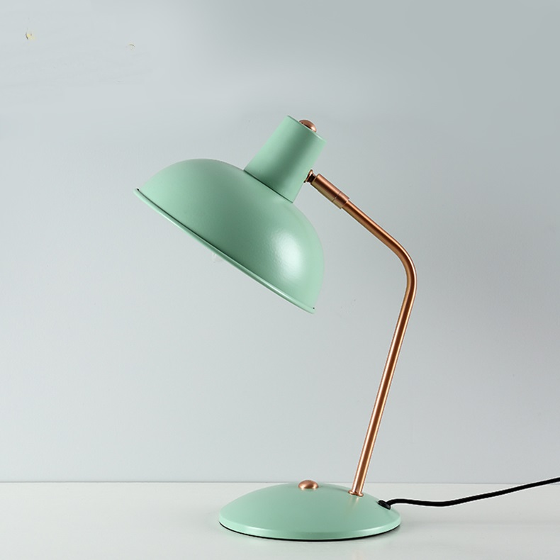 Nordic blue pink green E14 table lamps children s eye Book lamp simple office bedroom study