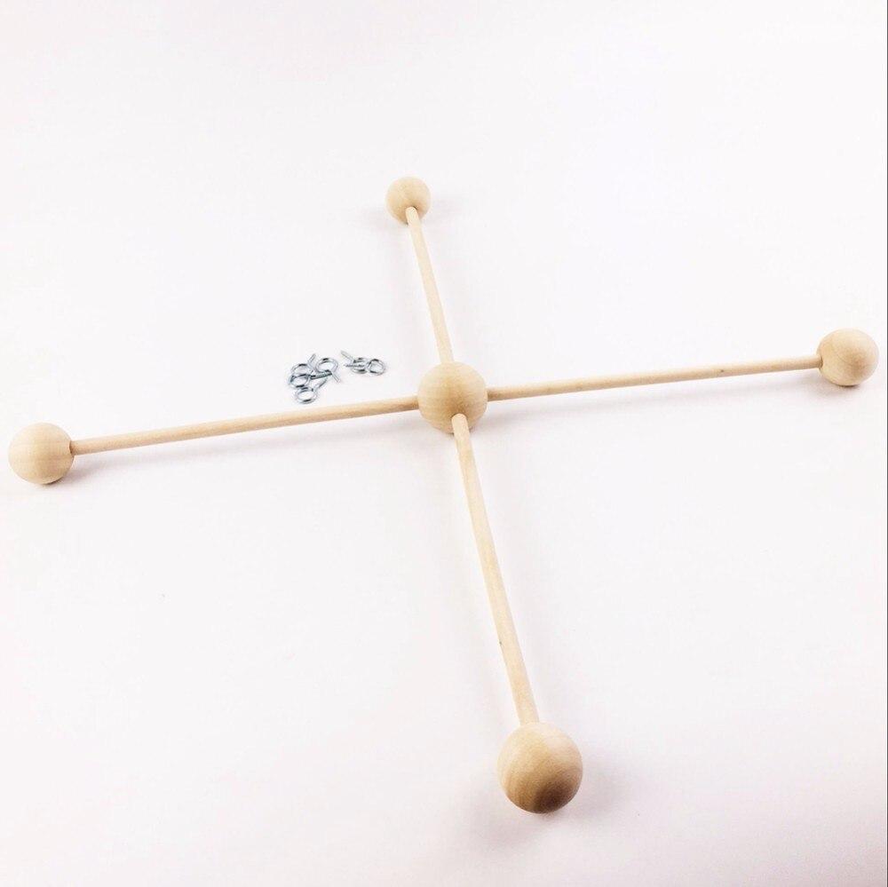 웃 유Pinjeas juego de 10 madera percha móvil cuna móvil percha ...