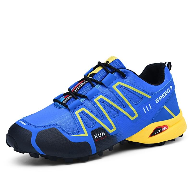 2018 nouveaux hommes occasionnels chaussures hommes de mode lumière tendance lumière chaussures de marche homme chaussures de travail de haute qualité Sneakers grand taille 39-48