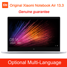 Original Xiaomi Mi Notebook Air Intel Core i5-6200U CPU 8GB DDR4 RAM Intel GPU 13.3inch display Laptop Windows 10 SATA SSD
