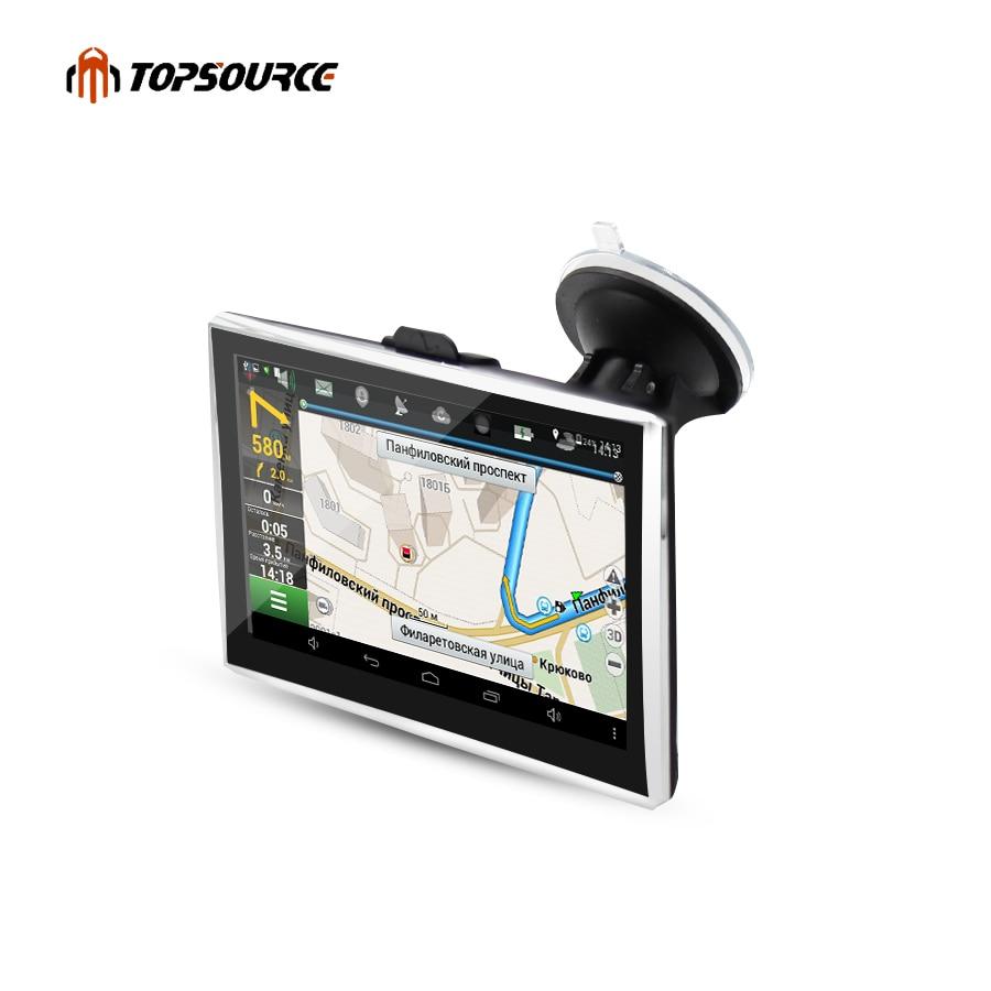 """5 """"HD Автомобильный GPS навигация грузовик gps навигатор Оконные рамы CE6.0 FM 8 ГБ емкостный экран 800*480 Навител (Россия русский) GPS карта"""