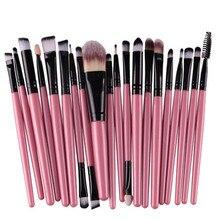 20Pcs Rose gold Makeup Brushes Set Pro