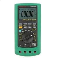 MASTECH MS8218 Цифровой мультиметр 50000 отсчетов Многофункциональный Правда RMS ПК USB DMM 5 1/2 бит Авто Диапазон Тестер мультитестерный амперметр