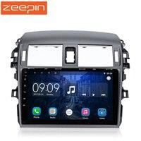 9 ''Сенсорный экран Автомобильный мультимедийный плеер для 07 13 Corolla 2 Din Авто радио плеер Bluetooth gps аудио сзади видео автомобиля зрения