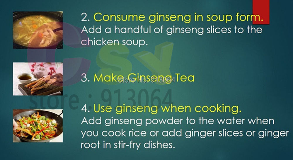 ginseng instruction5