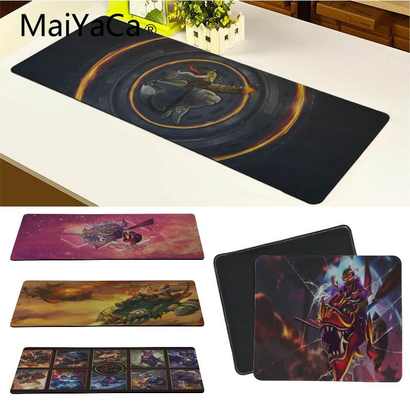 MaiYaCa New Arrivals Corki Laptop Gaming Mice Mousepad Size for 180*220 200*250 250*290 300*900 and 400*900*2mm