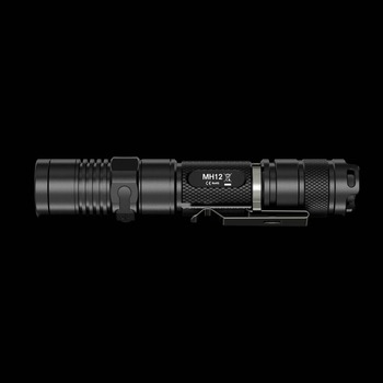 SALE NITECORE MH12 MH12W 1000lm U2 LED Rechargeable Flashlight Search Rescue Portable Torch Without 18650 Battery Free Shipping