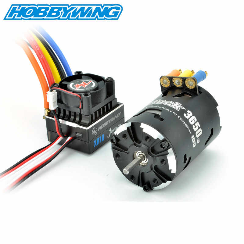 Hobbywing XeRun Justock 3650SD G2.1 10.5T 13.5T 17.5T 21.5T 25.5T Motor XR10 Justock ESC Power systeem Combo Voor RC Auto