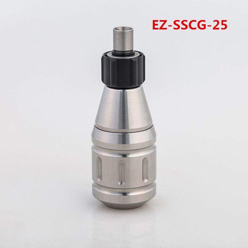 EZ Aluminium Verstelbare Cartridge Grips en Rvs Grips Fit voor alle Standaard Cartridges Naalden en Tattoo Machines-in Tatoeagehandgreep van Schoonheid op  Groep 3