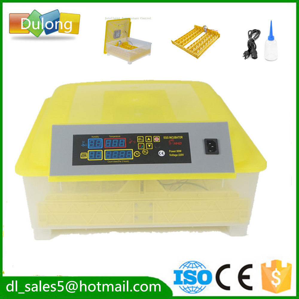 CE approved Excellent quality 48 Egg Incubator Automatic hatcher brooder Machine for hatching Quail chicken Birds chicken egg incubator hatcher 48 automatic mini parrot egg incubators hatcher hatching machines