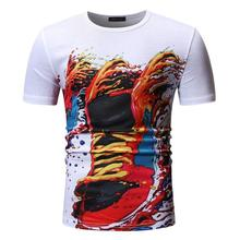 Funny T Shirts Men's Summer Tops Tees Social Mens T Shirts Fashion Hip hop Fitness Clothing O-Neck Short sleeve Loose New fashion ice silk all match o neck short sleeve t shirts summer new arrivals knitting bottoming fitness european style tops 1610
