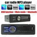 Big promotion Bluetooth Car Stereo FM Radio MP3 Audio Player USB/SD/AUX In-Dash 1 DIN remote control bluetooth