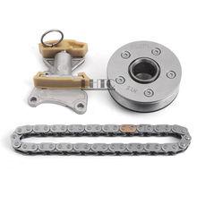 Cronometragem Chain Tensioner Ajustador da árvore de cames Kit Unidade Para VW Passat GLI GTI Golf R EOS TTS AUDI A3 A4 2.0 FSI 2.0 T BWA BPY EA113
