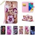 Цветок Кожа Телефон Чехол Для Samsung Galaxy Grand Neo Duos Core Prime G530 G360 S3 J120 A5 J3 J5 S6 S7 Крышка Кошелек Сумка держатель