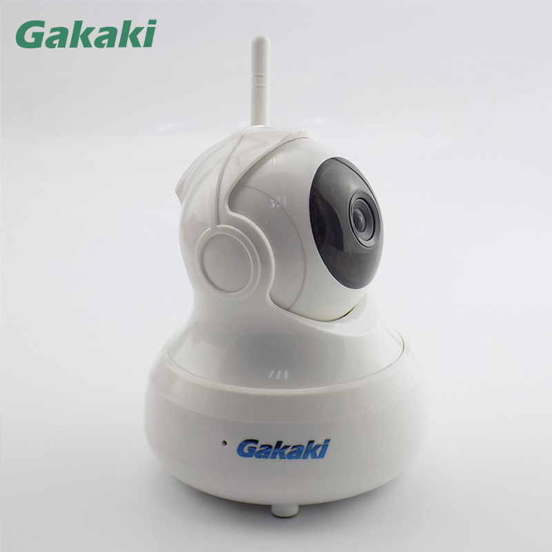 Gakaki Wifi IP Camera HD 720P Wireless CCTV Security Camera P2P Network Baby Monitor Home Protection Mobile Remote Camera 720p mega pixel p2p mobile remote control wifi version wireless ip camera