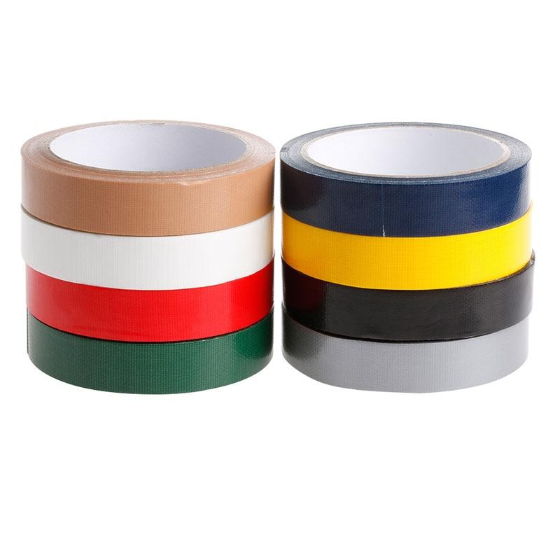 1Pc New Duct Gaffa Gaffer Waterproof Self Adhesive Repair Bookbinding Cloth Tape 2cm*10m Tape High Quaility
