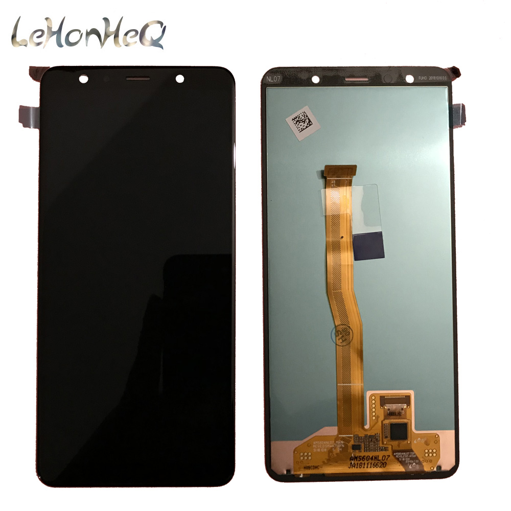 Image 2 - For Samsung Galaxy A7 A750 A750G SM A750F LCD Display Touch screen Digitizer Assembly For samsung A7 2018 A750 Original Display-in Mobile Phone LCD Screens from Cellphones & Telecommunications
