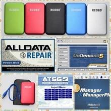 ALLDATA 10,53 и Митчелл, по заказу+ ElsaWin 6,0+ яркая мастерская+ менеджер все данные 30 в 1 ТБ HDD Авто Ремонт