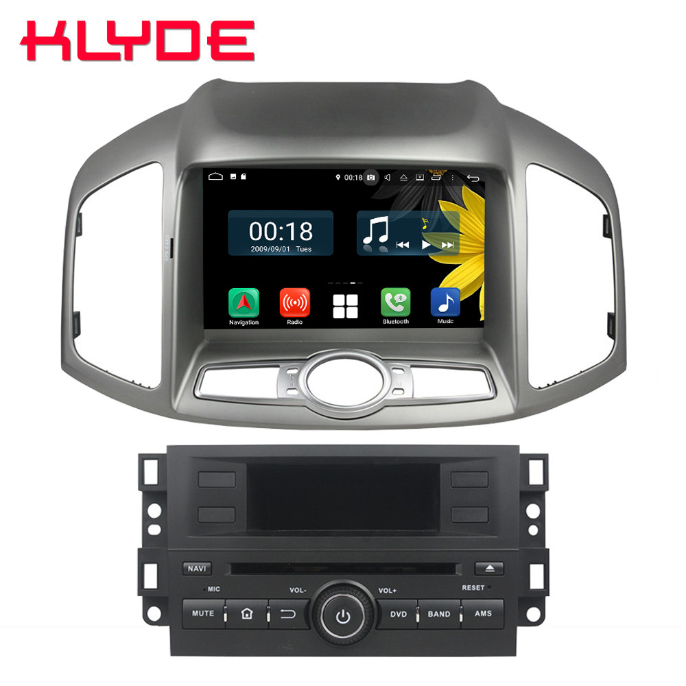 8 Octa Core 4g Android 8.1 4 gb RAM 64 gb ROM Lecteur DVD de Voiture Radio GPS Glonass navigation Pour Chevrolet Captiva Epica 2012-2018