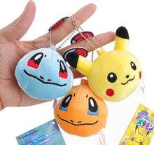 7CM Pikachu Plush Stuffed Toy Doll Kid s Party Keychain Gift Plush Toys  Decor Pendant Toy B0893 6d047d4b6426