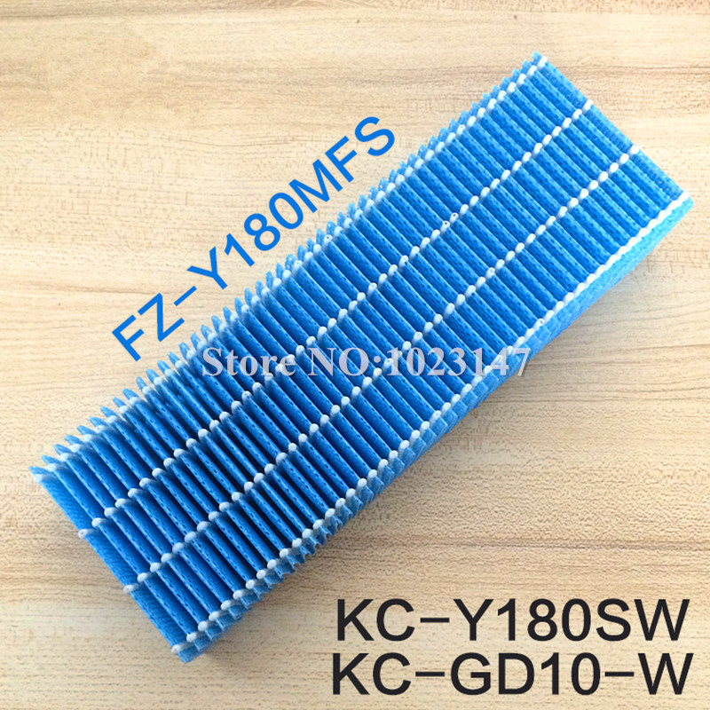 1 piece Humidified Air Purifier Parts HEPA Filter replacement for sharp KC-Y180SW,FU-Y180SW,KC-GD10-Wj,FU-GD10-W,FU/GB10-W/A/P 1set replacement heap carbon filter for sharp air purifier fu 888sv fu p60s fu 4031nas 39 31 3 5cm 39 31 1cm