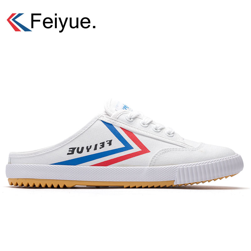 Feiyue Canvas Shoes For Men Sneakers Breathable Sports Shoes Summer Taichi Kungfu Sports Sneakers Walking Sneakers Men Trainers