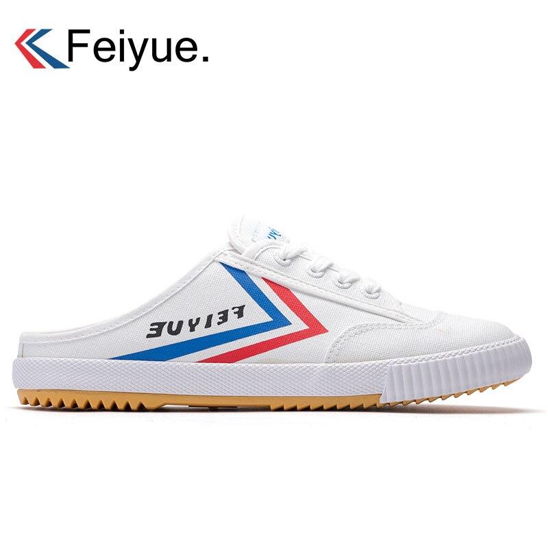 Feiyue chaussures en toile pour hommes baskets respirant chaussures de sport été Taichi Kungfu sport baskets marche baskets hommes formateurs