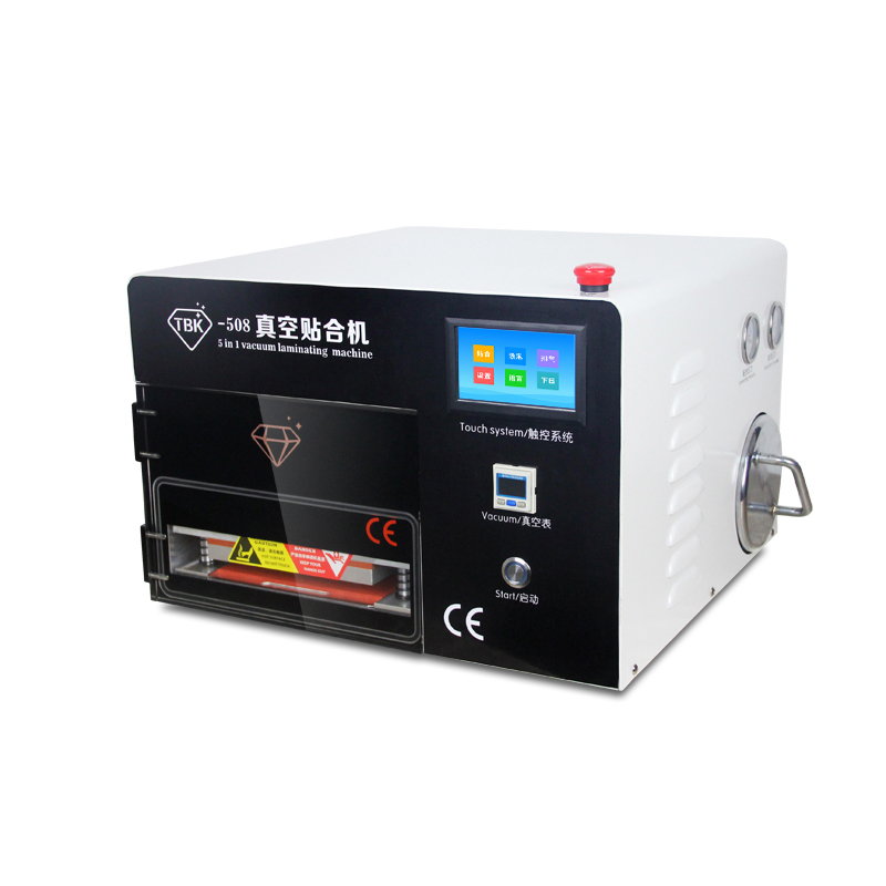 TBK-508 Touch Screen OCA Vacuum Laminating Machine Vacuum Laminator No Need Air Compressor No Need Vacuum Pump No Bubble mt high quality lcd automatic laminating remove bubble machine need air compressor and vacuum pump