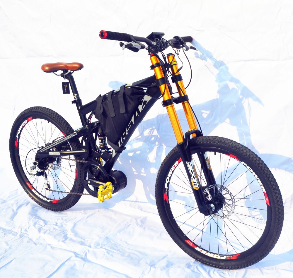 kalosse mid motor 1000w 48v electric bike electric. Black Bedroom Furniture Sets. Home Design Ideas