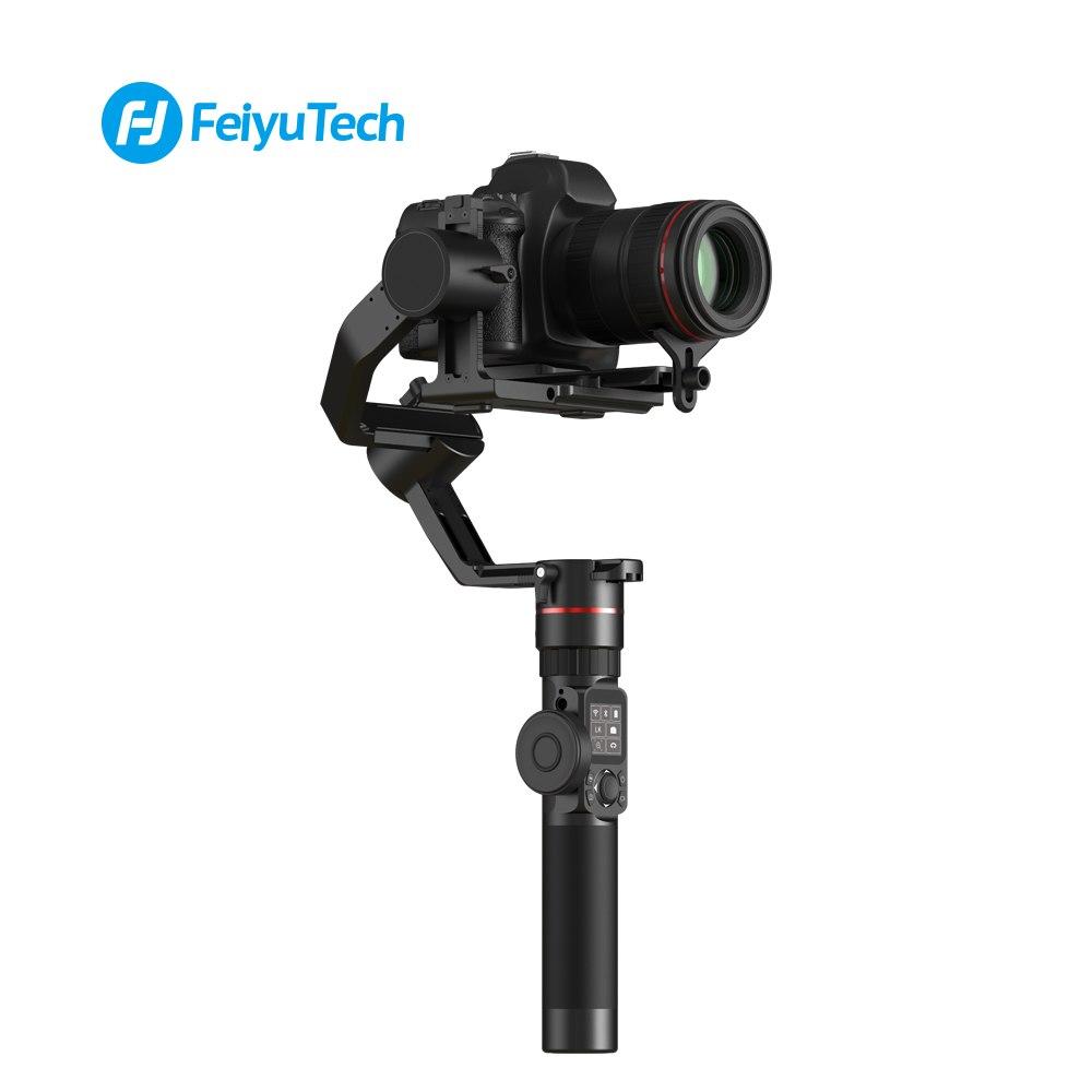 FeiyuTech Feiyu AK2000 3-Axis Camera Stabilizer Gimbal for DSLR Camera Sony Canon 5D Panasonic GH5 Nikon 2.8 kg Payload pk crane feiyutech a2000 3 axis gimbal for dslr camera