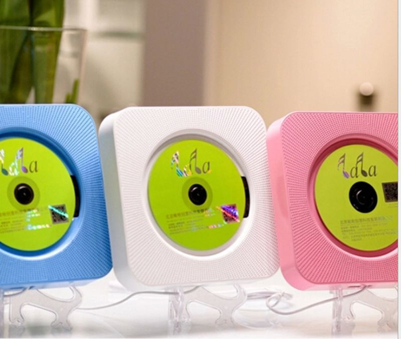 CD player wall-mounted CD player household hanging acoustics prenatal education early education English use bluetooth speaker