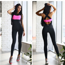 Women New Bodysuits Sexy fitness playsuit Jumpsuits Short Sleeve Backless Bodyco