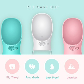 350ml Portable Dog Water Bottle  3