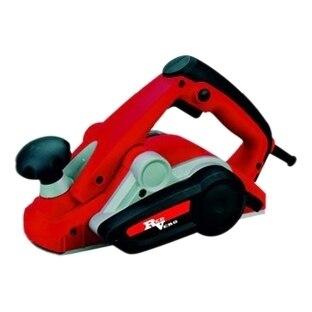 Рубанок электрический RedVerg RD-P90-82 (Мощность 900 Вт, число оборотов 15000 об/мин, макс.глубина строгания 3 мм, ширина - 82мм, 2 ножа, пылесборник, коробка)