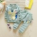 Top quality roupa do bebê baby boy gril Outono/Inverno Manter as crianças quentes conjuntos de roupas casaco + calça terno ewborn ternos do esporte